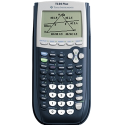 TI-84 GRAPHING CALCULATOR