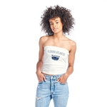 SPIRIT JERSEY WHITE TUBE TOP